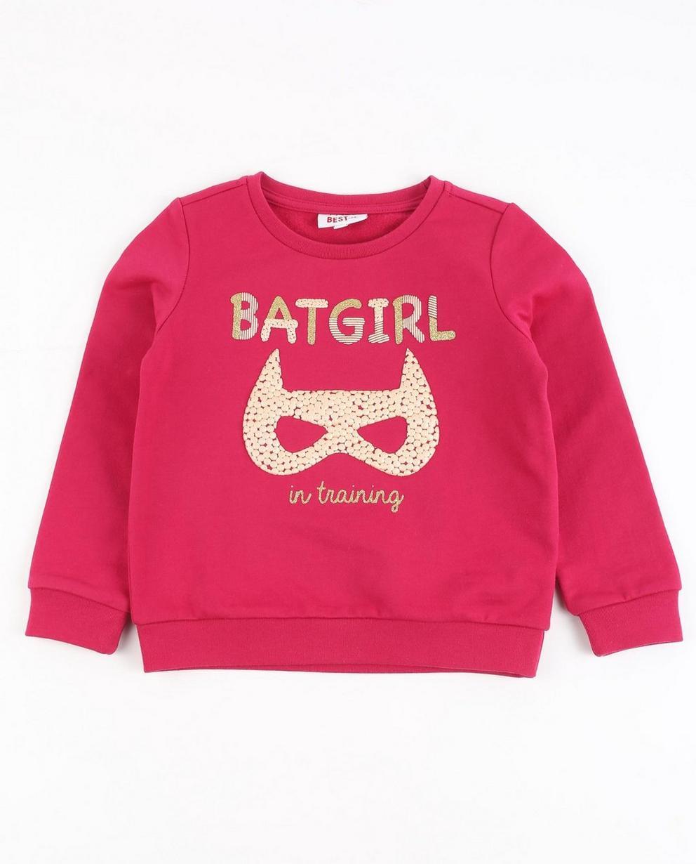Nachtblaues Sweatshirt - mit Glitzer - Best price